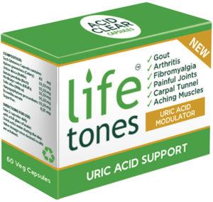 NatureLife Lifetones Uric Acid Modulator Capsules