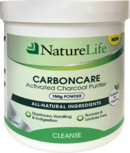NatureLife CarbonCare Activated Charcoal Purifier powder