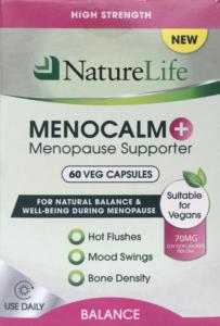 NatureLife MenoCalm Plus Menopause Supporter