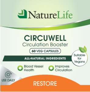 Circuwell Circulation Booster Label